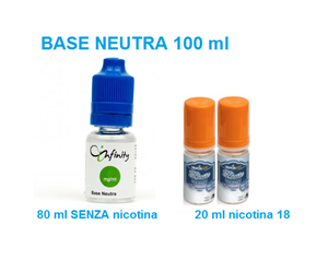 Basi Neutre »  »  » Base Neutre 100 ml nicotina 3